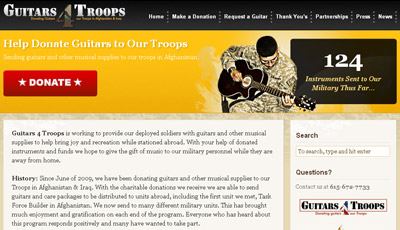 Guitars 4 Troops