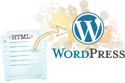 HTML to Wordpress Converstion